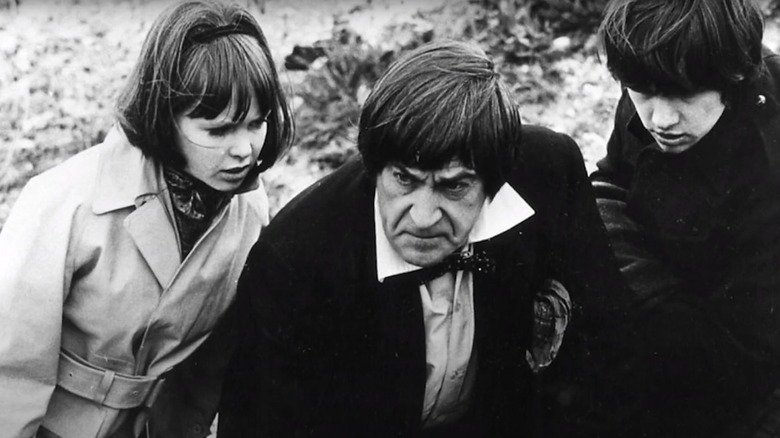 Patrick Troughton as the Doctor in Doctor Who