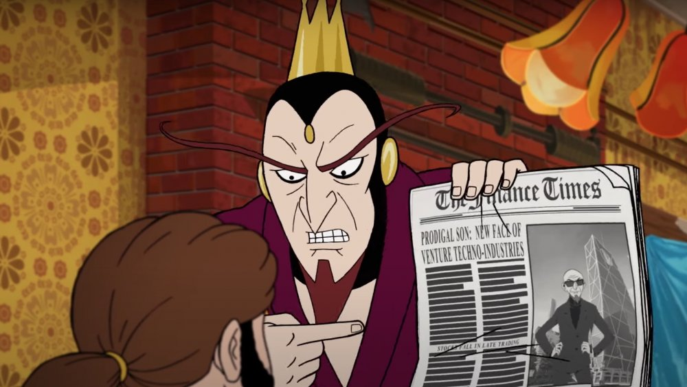 The Monarch from The Venture Bros.