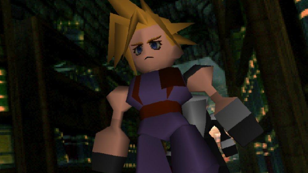 Cloud in Final Fantasy 7