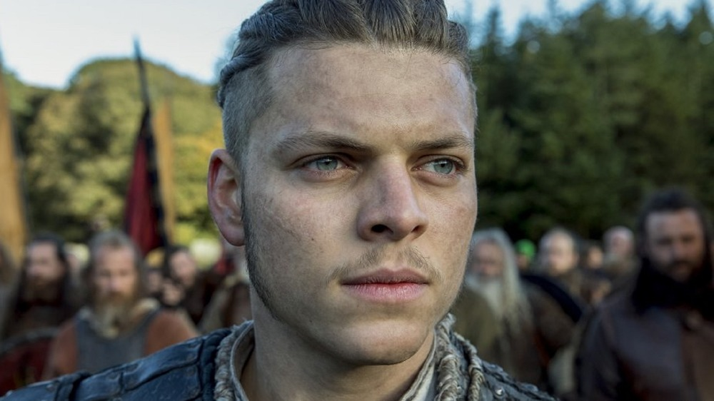 Ivar the Boneless looking pensive
