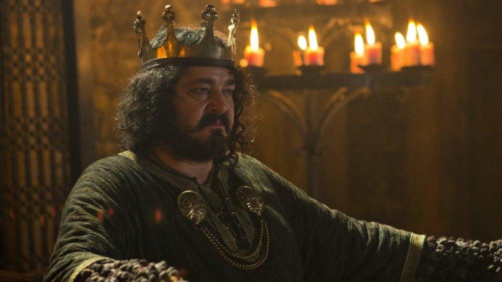 Ivan Kaye as King Aelle on Vikings