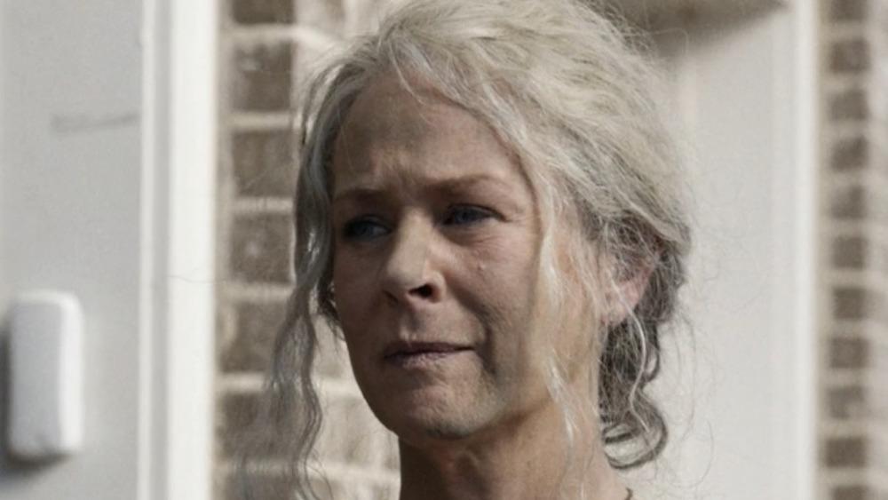 Melissa McBride Carol exhausted
