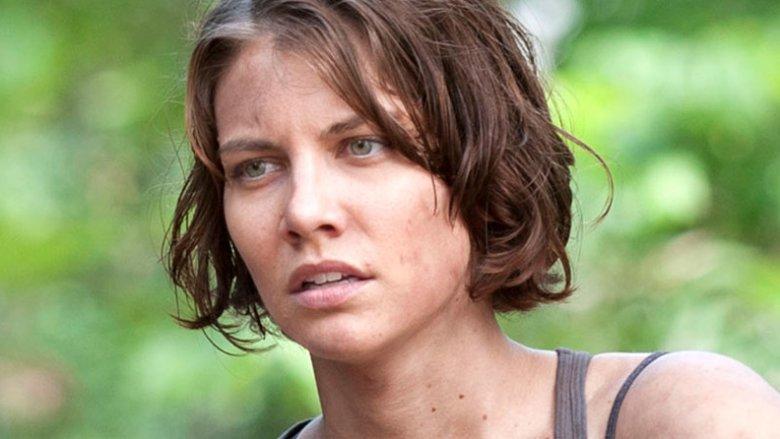 Lauren Cohan as Maggie Rhee Greene on The Walking Dead