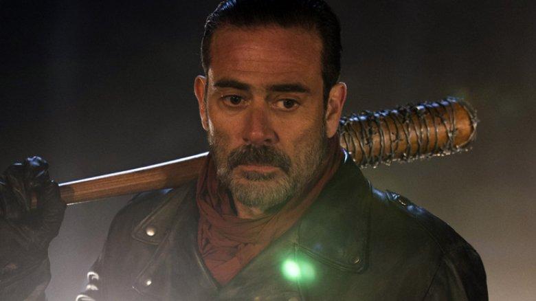 Jeffrey Dean Morgan as Negan on The Walking Dead