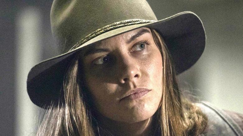 The Walking Dead Maggie Wears Hat