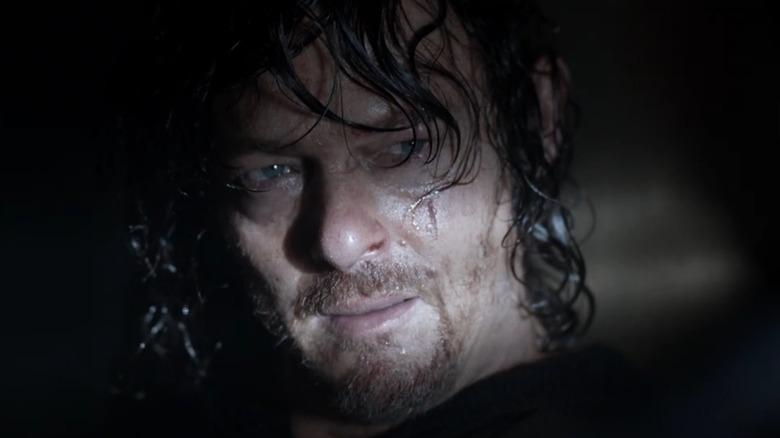 Daryl wet hair
