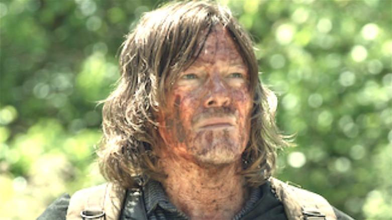 Daryl Dixon looking up