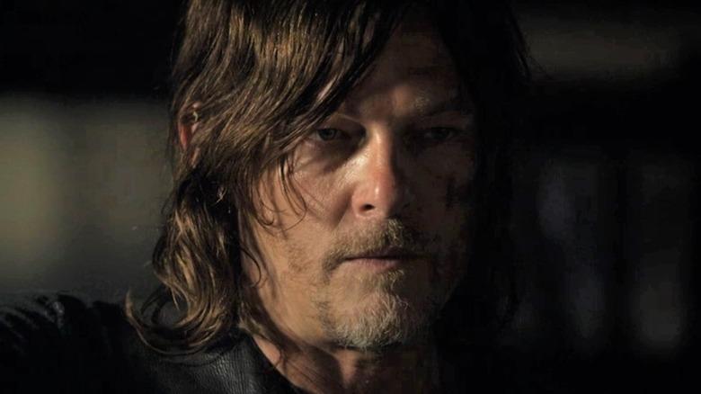 Daryl looking menacing