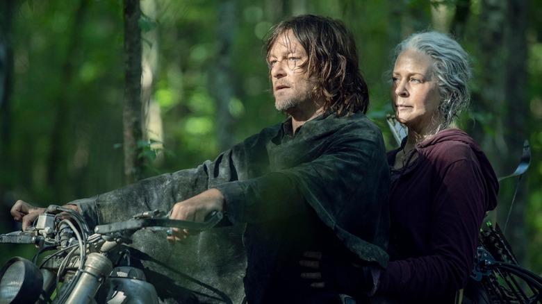 The Walking Dead season 10 Carol and Daryl