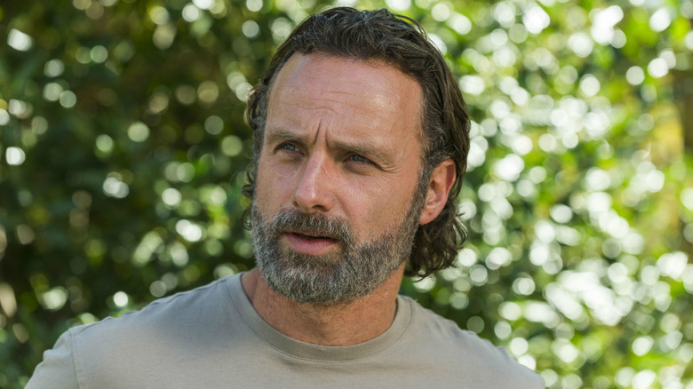 Rick Grimes with a beard