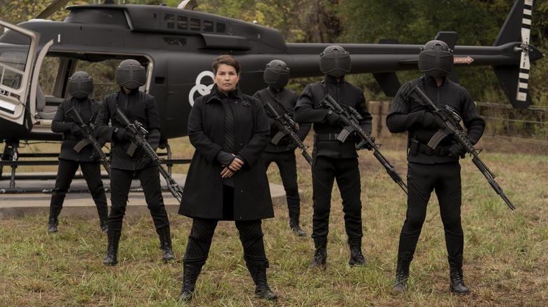 Julia Ormond as Kublek on The Walking Dead: World Beyond