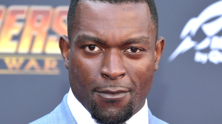 Michael James Shaw on the red carpet