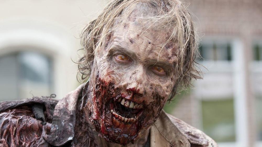 A walker on The Walking Dead