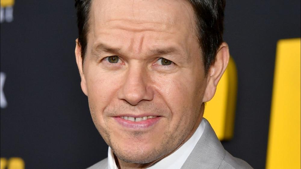 Mark Wahlberg looking dopey