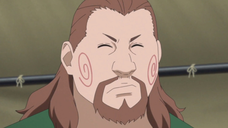 Choji Boruto Face Close-up