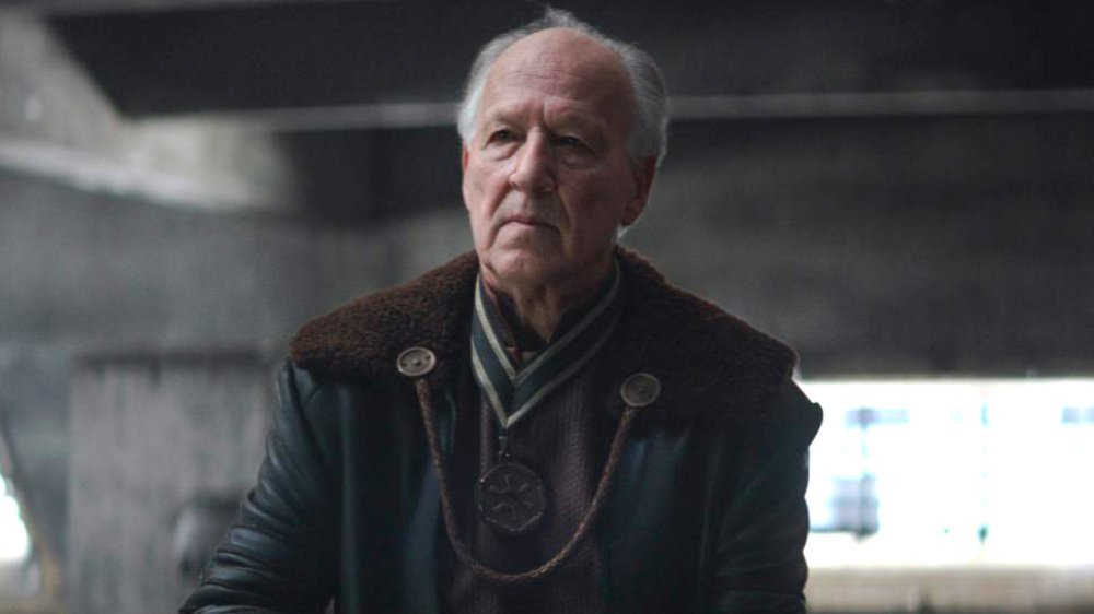 Warner Herzog as the Client in The Mandalorian