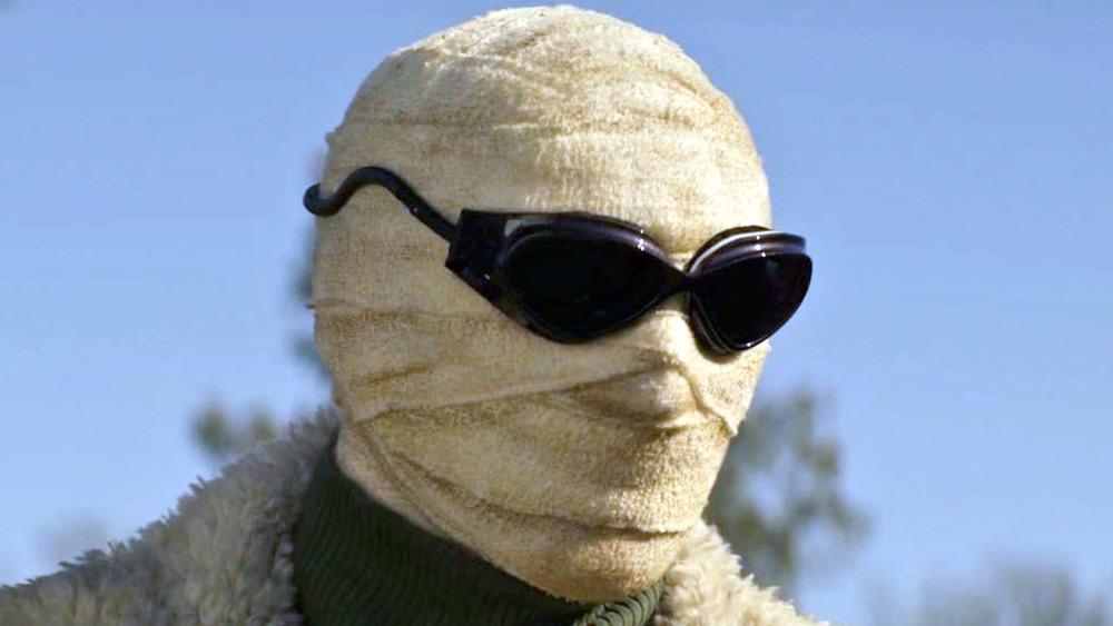 Negative Man in sunlight