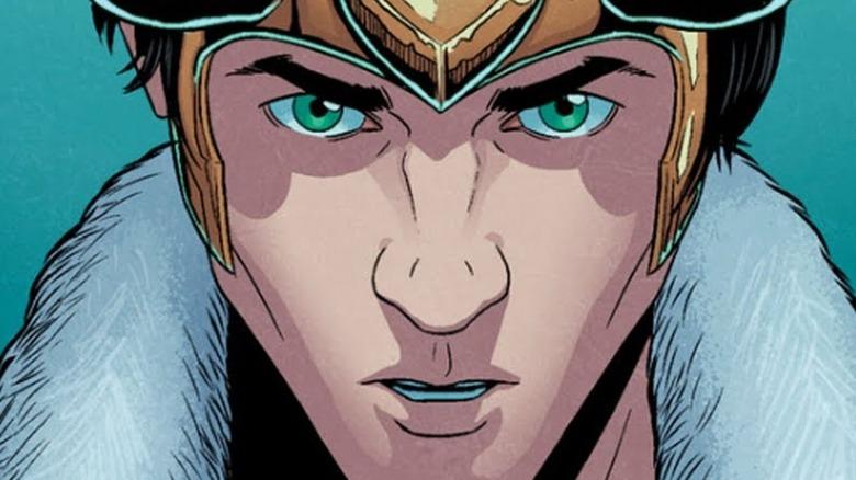 Loki wearing crown