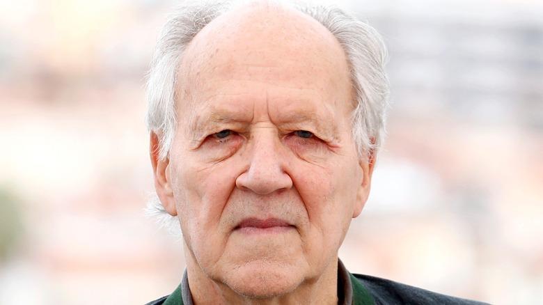 Werner Herzog closeup