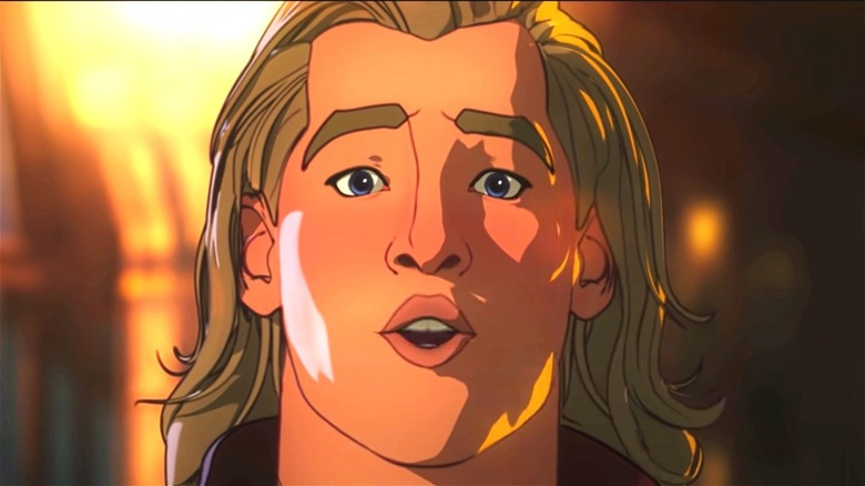 Animated Thor in 'What if...?'