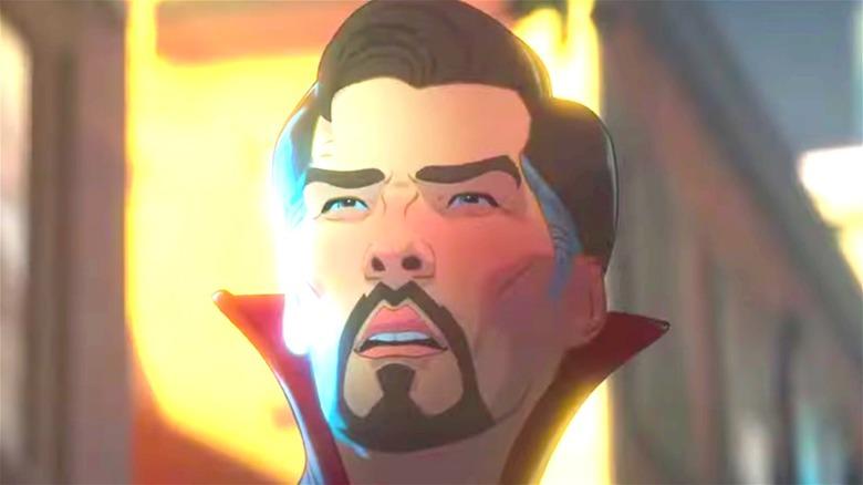 Doctor Strange looking surprised