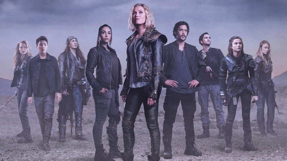 The cast of The 100