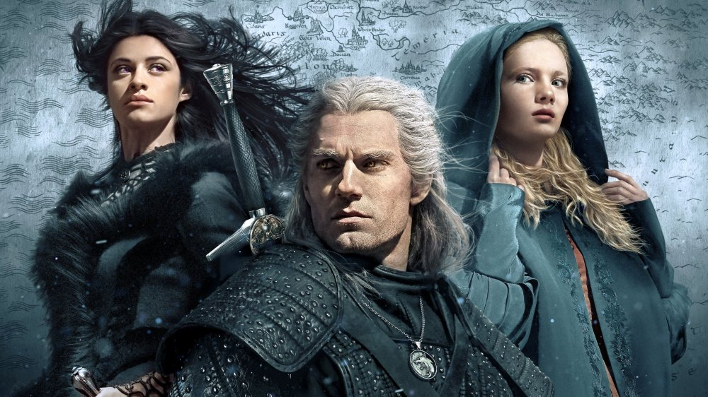 A poster for Netflix's The Witcher