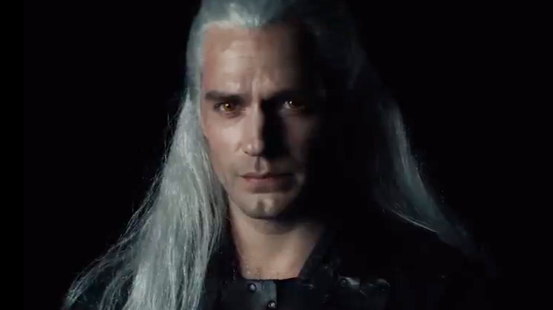 Henry Cavill as Geralt in The Witcher on Netflix