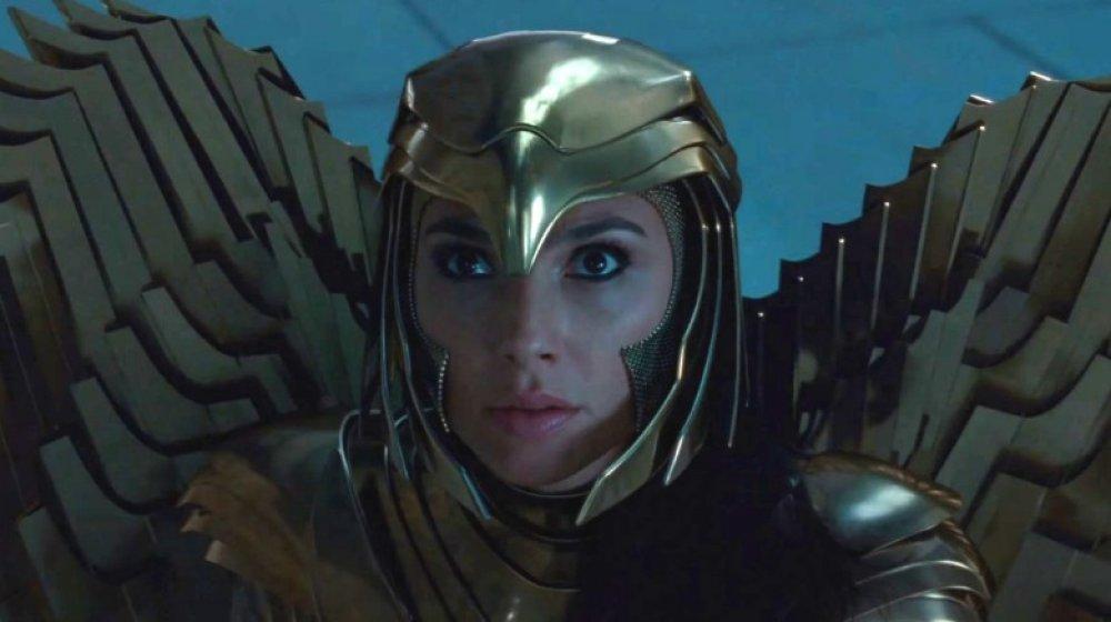 Gal Gadot as Wonder Woman in the trailer for Wonder Woman 1984
