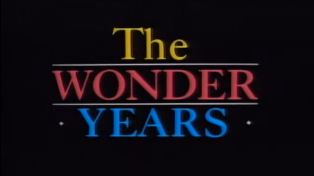 The original logo for The Wonder Years