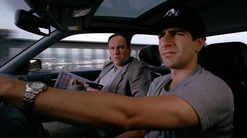 Michael Imperioli as Christopher Moltisanti in The Sopranos