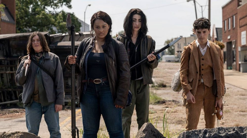 The stars of Walking Dead: World Beyond