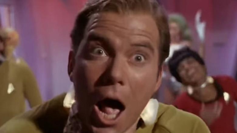 Captain Kirk Sick