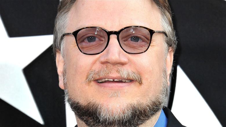 Guillermo Del Toro Smiling