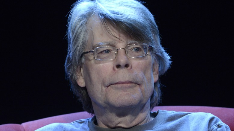 Stephen King at an event
