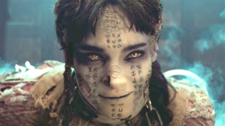 """Sofia Boutella as Ahmanet in 2017's """"The Mummy"""""""