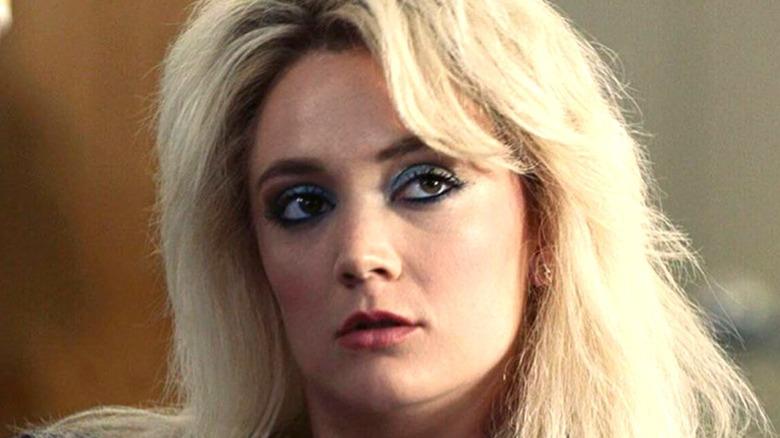 Billie Lourd in character