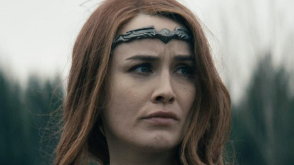 Queene Maeve looking somber