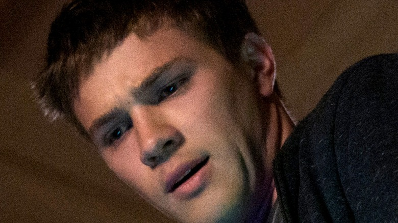 Connor Jessup looking down on Locke & Key