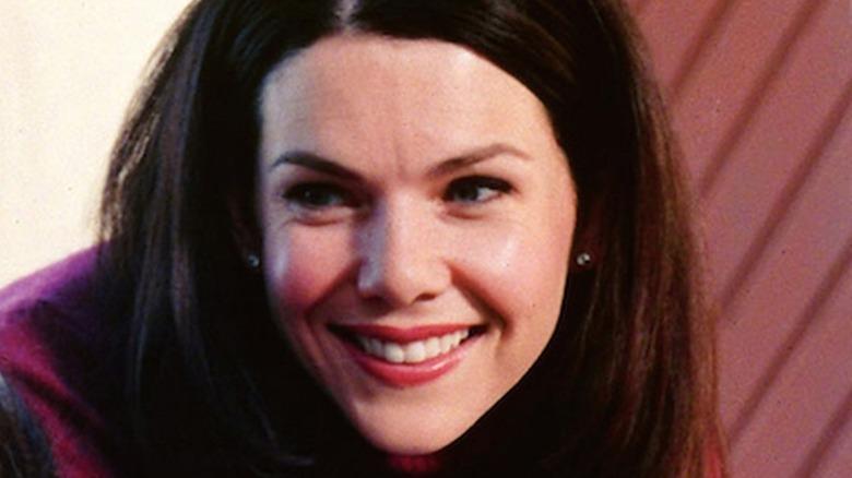 Lorelai Gilmore smiling