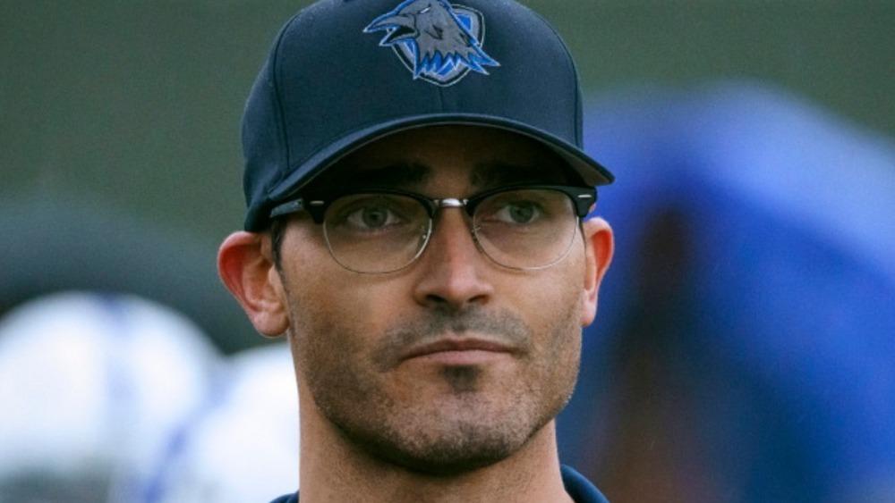 Clark Kent coaching football