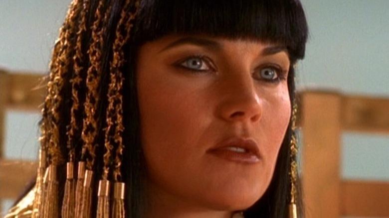 Xena as Cleopatra