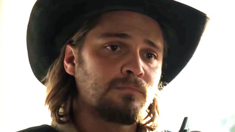 Kayce Dutton in cowboy hat