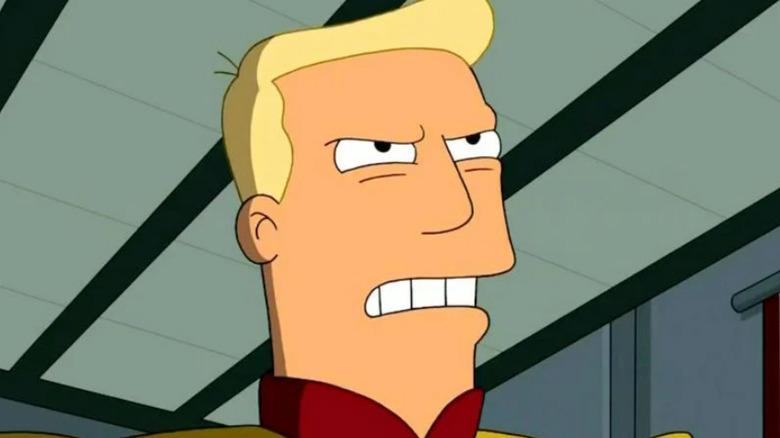 Zapp Brannigan from Futurama