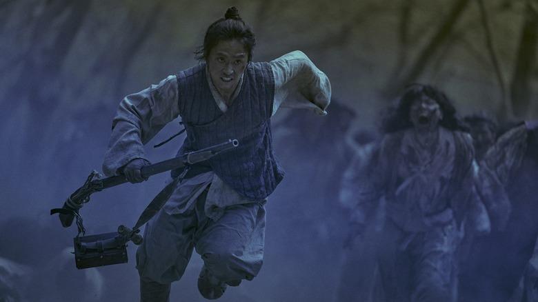 Kim Sung-kyu as Yeong-shin on Kingdom