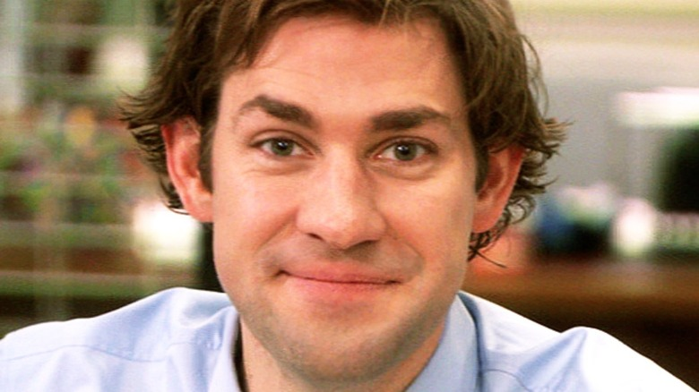 Jim Halpert smiling