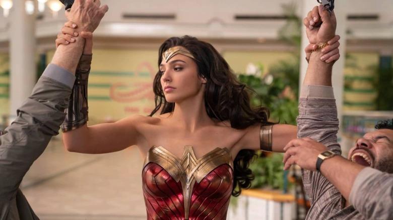 Gal Gadot as Wonder Woman in Wonder Woman 1984