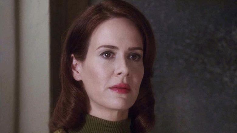 Sarah Paulson as Lana Winters staring