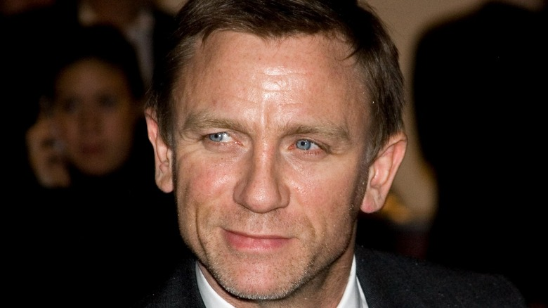 Daniel Craig smoldering