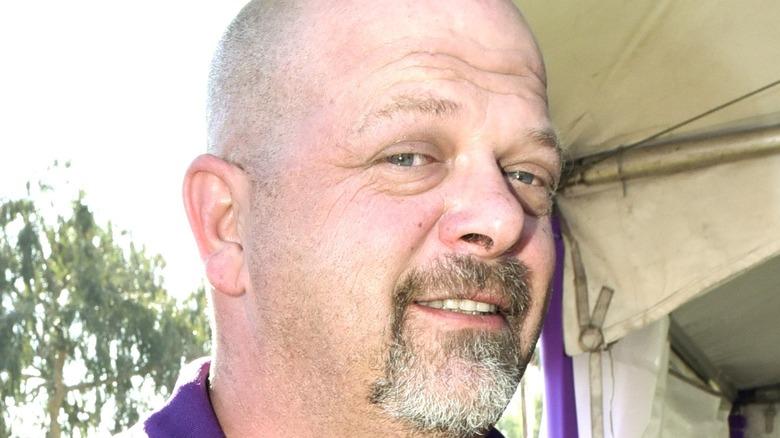 "Rick Harrison, lead broker of ""Pawn Stars,"" smiling"